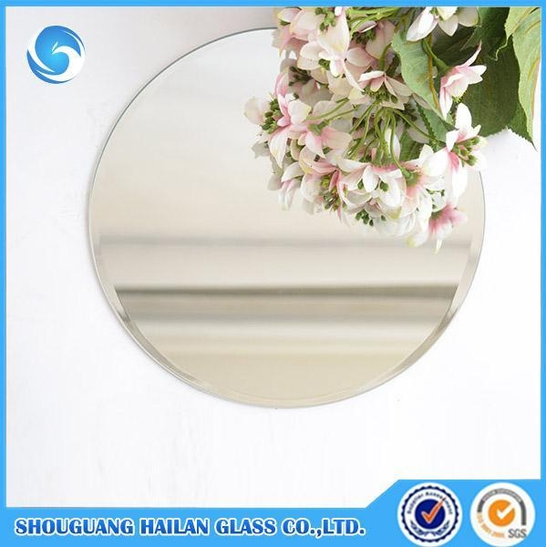 Cheap Ya023 Aluminum Round Bevel Edge Bathroom Mirror Of Yonganglass