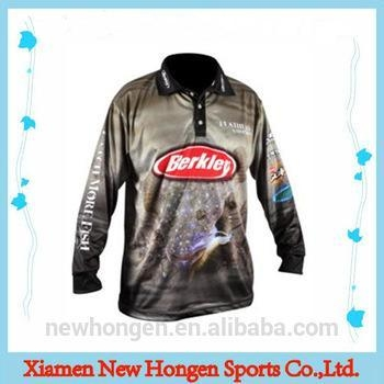 Cheap professional custom sublimated wholesale fishing for Fishing jerseys for sale