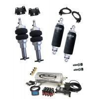 Buy cheap Polished Hot Rod Shocks 1993-2002 Chevy Camaro, Firebird - Air - Level 2 from wholesalers