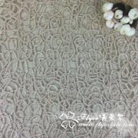 Quality Elastic Nylon Lace Fabric with Lotus Lca65132 wholesale