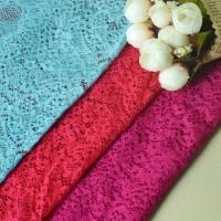 Buy cheap Colorful elastic lace trim, elastic lace fabric for clothing decoration from wholesalers