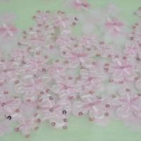 Buy cheap China high quality black serried sequin lace fabric for women's garment from wholesalers