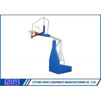 China Spring Assisted 8FT Portable Basketball Stand on sale