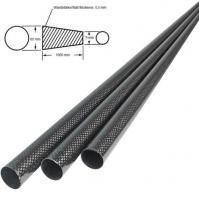 Buy cheap Carbon Fiber Tube Tapered Carbon Fiber Tube from wholesalers