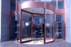 Cheap Automatic Revolving Door Automatic Revolving Door( with showcase) for sale