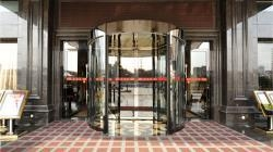Cheap Two wings revolving door for sale