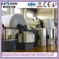 China Recycled paper pulp type Culture paper machine / A4 paper production line machine on sale