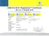 Quality D&B D-U-N-S Registered Certificate wholesale