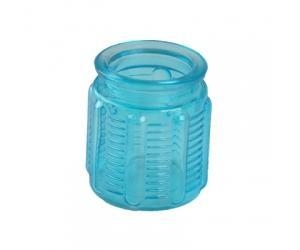 Cheap blue candle jar for sale