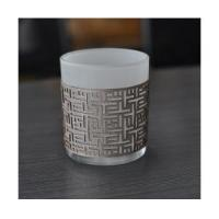 Quality candle holder with leather wrapped wholesale