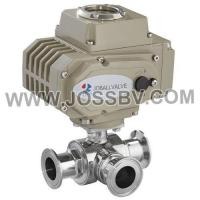 Quality Sanitary Electric Three-Way Ball Valve wholesale