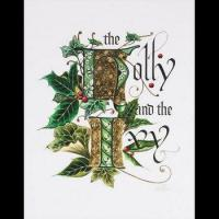 China Holly and Ivy 23K Gilded Limited Edition Signature on sale