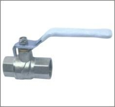 Cheap Brass Ball Valve Flat Steel Handle for sale