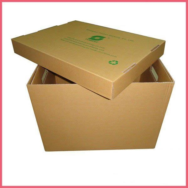 cheap cardboard storage boxes with lids of cnvistapak. Black Bedroom Furniture Sets. Home Design Ideas