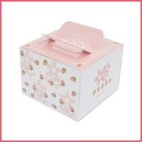 China White Cardboard Boxes For Cakes on sale