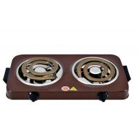 Buy cheap High-powered Coil Hot Plates With Two Die-cast Heating Elements For Fast Cooking from wholesalers