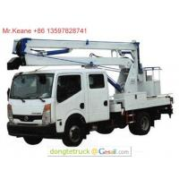 Buy cheap 14-16m Nissan CABSTAR Aerial Working Platform Truck from wholesalers