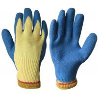 Quality Cut resistant glove with latex coated in palm wholesale