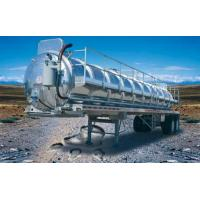 7000 gallons aluminum septic trailer