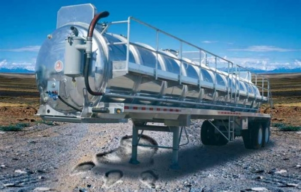 Cheap 7000 gallons aluminum septic trailer for sale