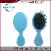 China wet hair brush comb set of rubber finish on sale