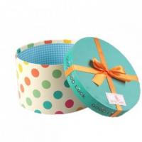 Quality Roud Shaper Paper Printed Gift Box wholesale