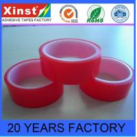 Buy cheap Masking Tape Polyester PET Silicone Adhesive Red Splice Tape For Liner Joint from wholesalers