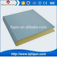 Quality 2016 Top Quality Strong Quakeproof Pu Polyurethane Sandwich Panel wholesale