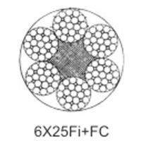 Quality Steel aircraft cable 6X25Fi+FC wholesale
