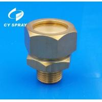 China Brass connect thread nozzle ,connect thread spray nozzle,brass water spray nozzle on sale