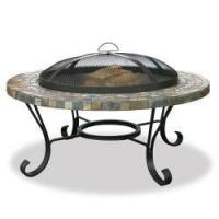 Buy cheap Slate Tile with Copper Outdoor Firebowl from wholesalers