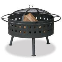 Buy cheap Aged Bronze Firebowl with Lattice Design from wholesalers