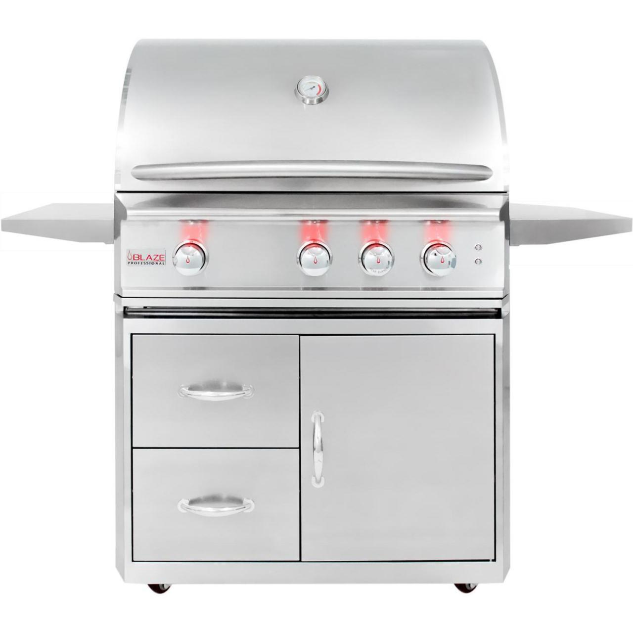 Buy cheap Blaze Professional 34-Inch Freestanding Propane Gas Grill With Rear Infrared Burner from wholesalers