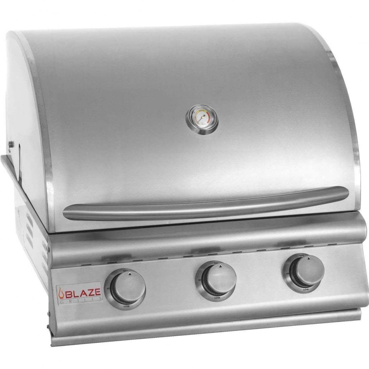 Buy cheap Blaze 25-Inch 3-Burner Built-In Natural Gas Grill - BLZ-3-NG from wholesalers