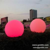 China LED Ball Light Outdoor With RGB Color Changing on sale