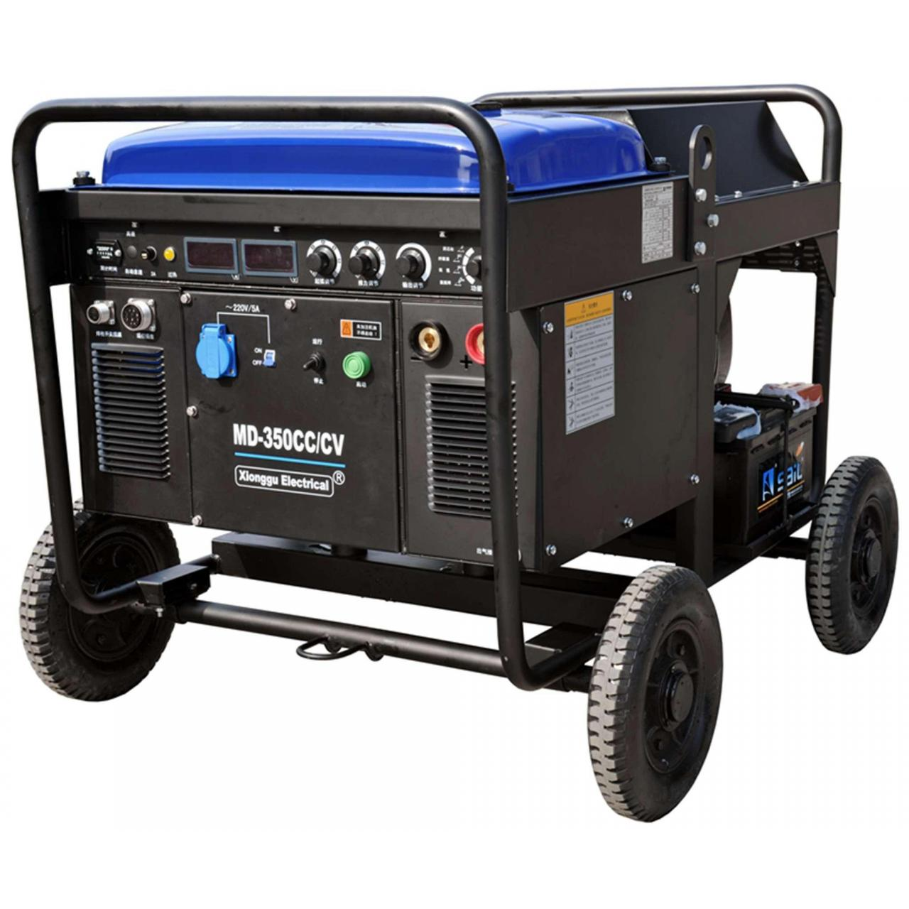 Quality Engine driven welders MD-350CC/CV Multi-Process Welder Driven by Diesel Engine wholesale