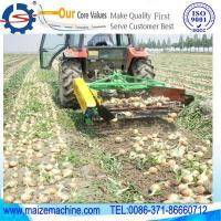 Quality Reaping machine+ onion harvest wholesale