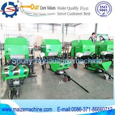 Cheap pack machine+ corn silage round baler for sale