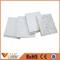 Quality Mineral fiber ceiling board/mineral wool ceiling tile wholesale