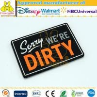 China Made in China eco-friendly paper Material plain fridge magnets with oem logo on sale