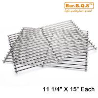 Quality Grid Cooking Grates Replacement for Weber 7521 Meshes (14.9 x 11 x 2.2
