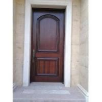 China Single Prehung Wood Entry Door on sale