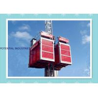 Quality Building Elevator Construction Hoist Safety , Man And Material Hoist wholesale