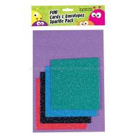 GPP996 Fun Cards & Envelopes Sparkle Pack