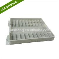 Quality Factory price Medical Plastic Tray for medicine bottles with Clear Cover wholesale