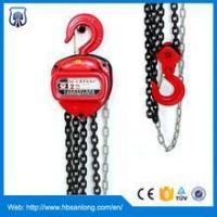 China 1.5 ton chain block and tackle hoist on sale