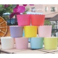 China So hot !!! SOLID COLOR cupcake liners paper baking cups on sale