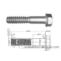 Buy cheap Rail Screw Spikes TR Thread Screw Spikes from wholesalers
