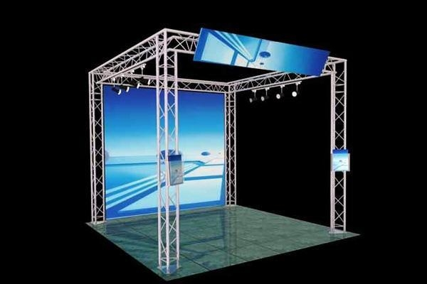 Cheap s010tdt 10 39 x 10 39 triangle display truss of trussevent for Cheap trusses for sale