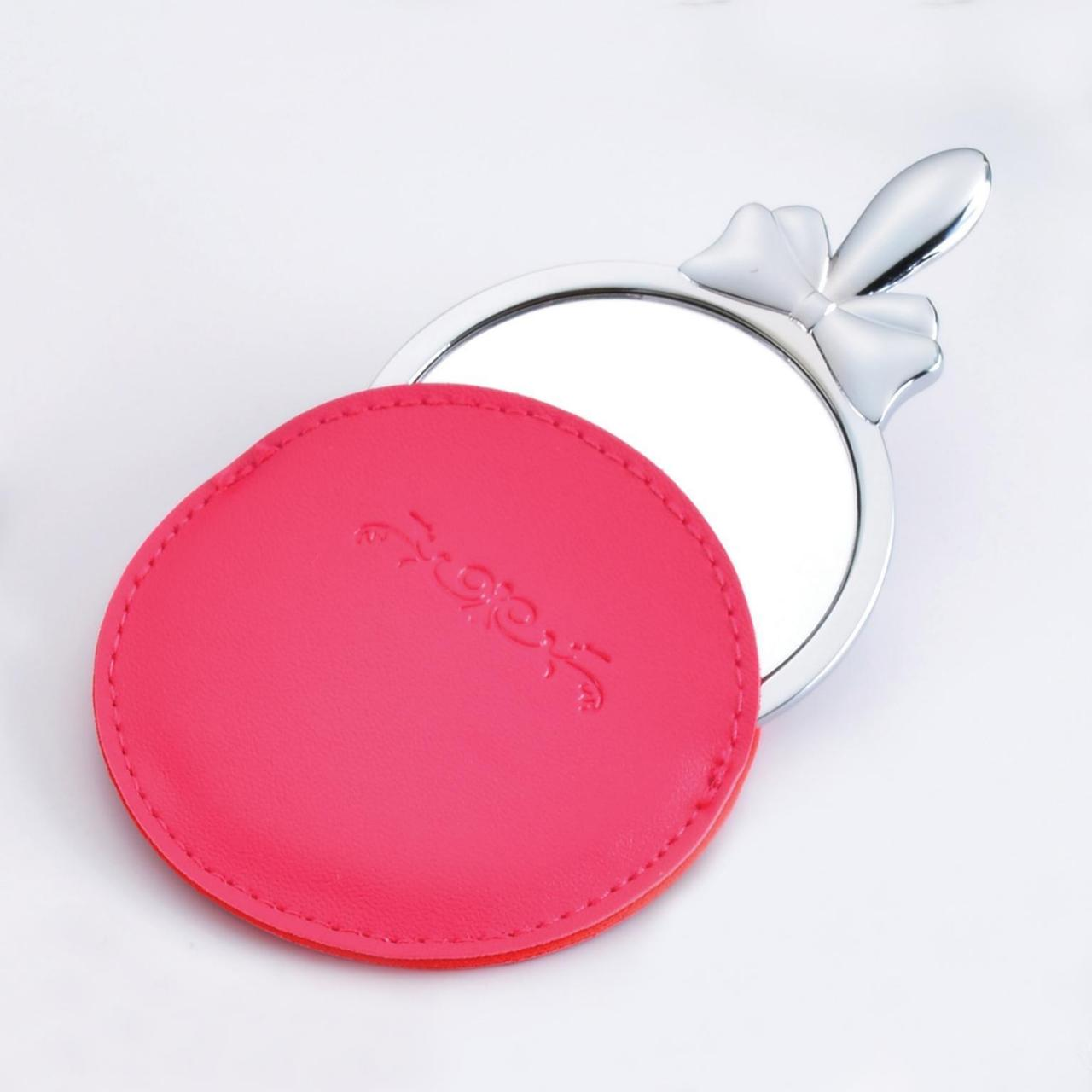 Quality Cosmetic Mirror with leather case wholesale